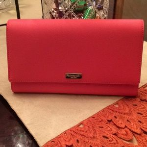 Kate Spade Wallet large enough use as a Clutch!